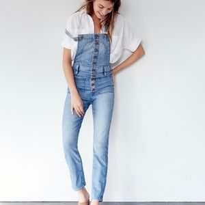 Madewell Bayfront Crop Jean Overalls 👖